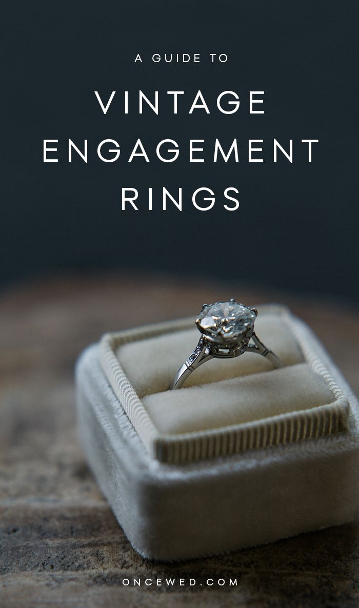 Shopping for a Vintage Engagement Ring