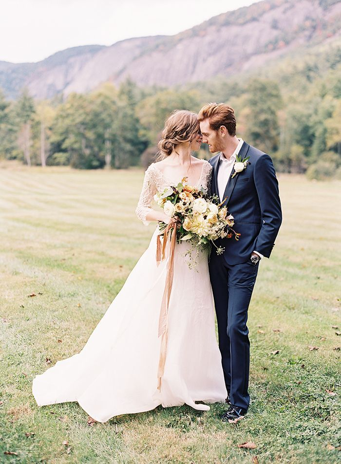 1 Fall Outdoor Wedding Inspiration