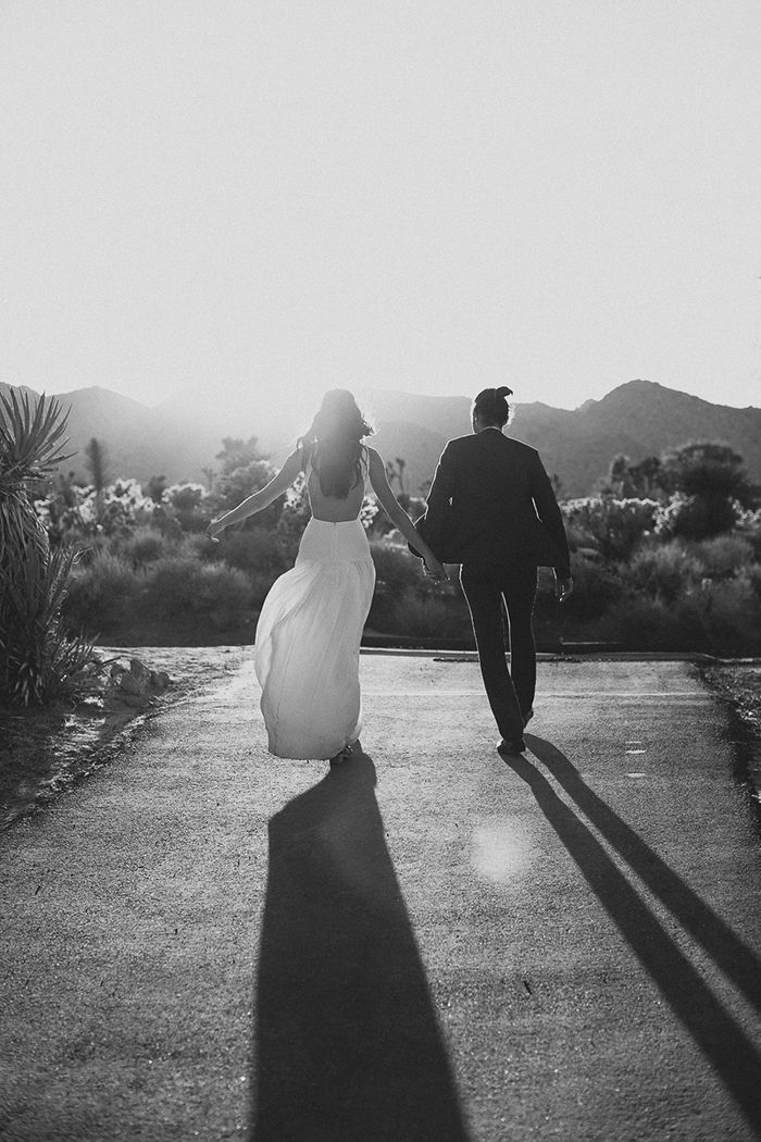 Bohemian Real Wedding in Joshua Tree