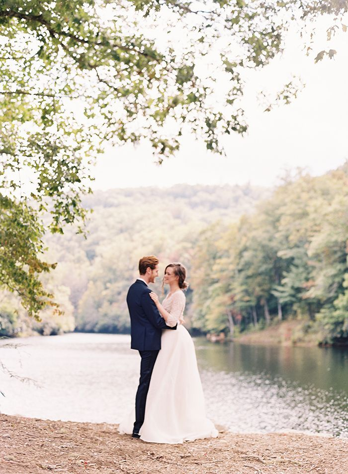 Organic Outdoor Fall Wedding in the Mountains