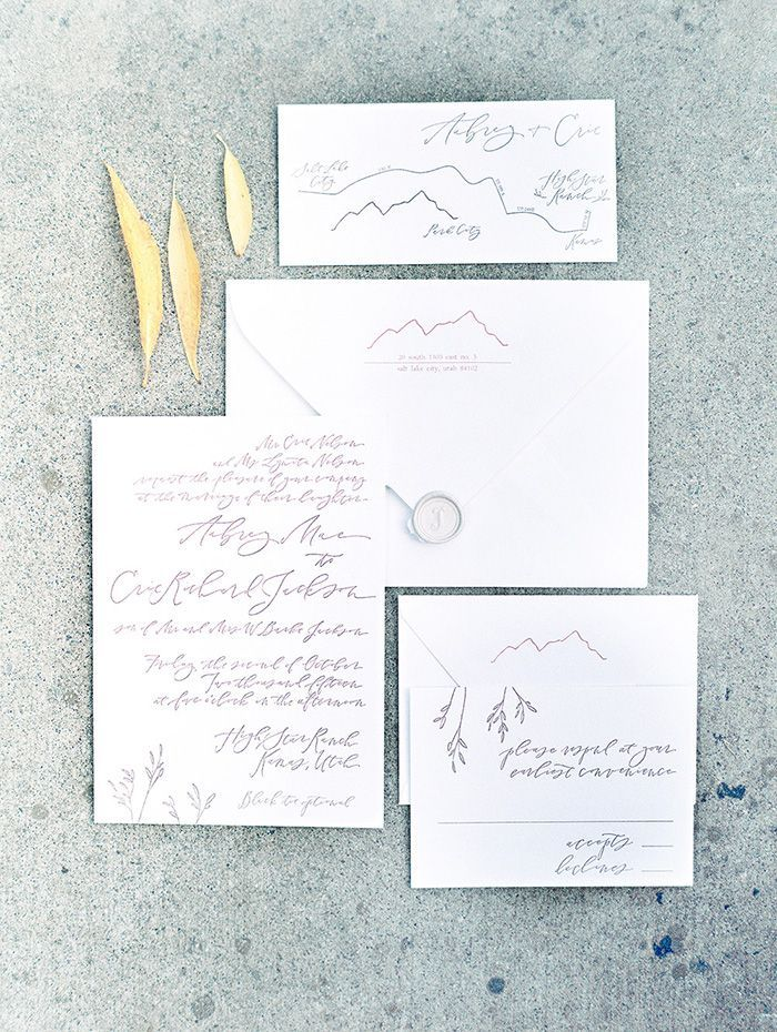4-custom-wedding-calligraphy-invitations