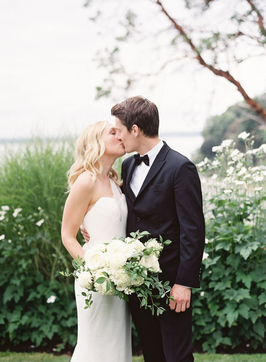 Chic Backyard Wedding In Washington