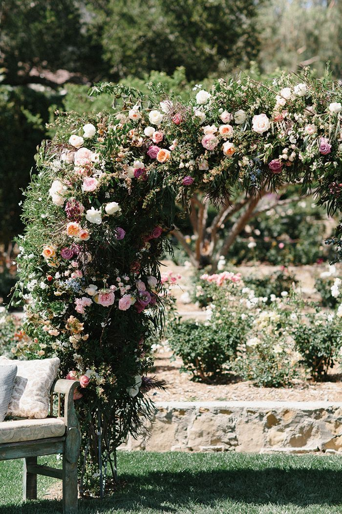 An Intimate Outdoor Wedding At San Ysidro Ranch Once Wed