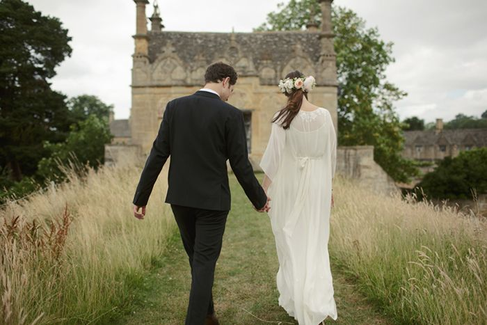 ENGLAND: Idyllic Countryside Wedding | This destination affair was held in the blissful English countryside town of Chipping Campden in the Cotswolds, where the bride spent holidays with her grandparents as a child.