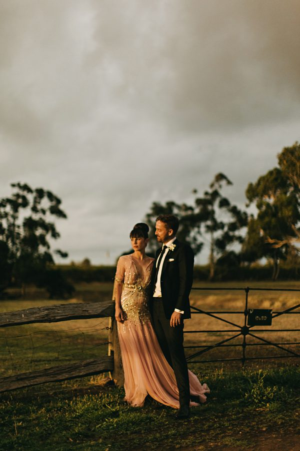 AUSTRALIA: Elegant Rural Wedding | This couple fell in love in McLaren Vale, and it provided the perfect backdrop for their elegant organic nuptials with just a touch of edge.
