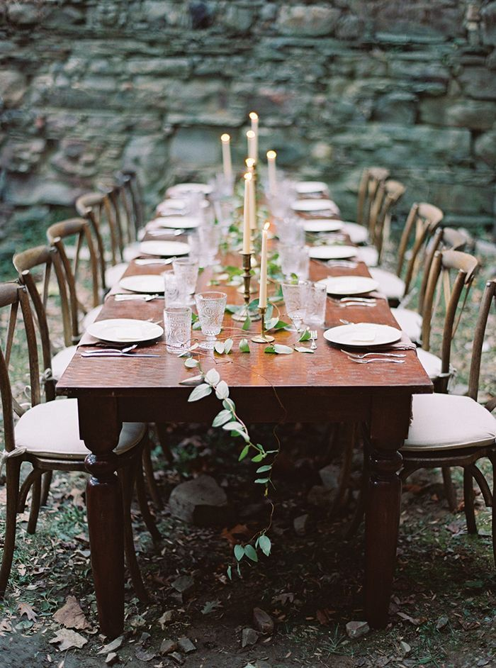 Simple and Elegant Outdoor Wedding - Once Wed
