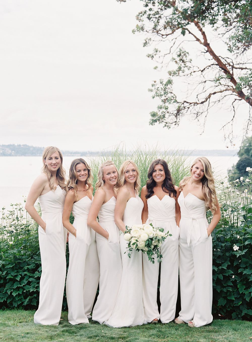 5-simple-white-bridesmaid-gowns