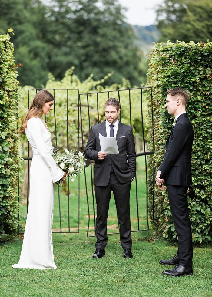 7 Simple Garden Wedding Ceremony