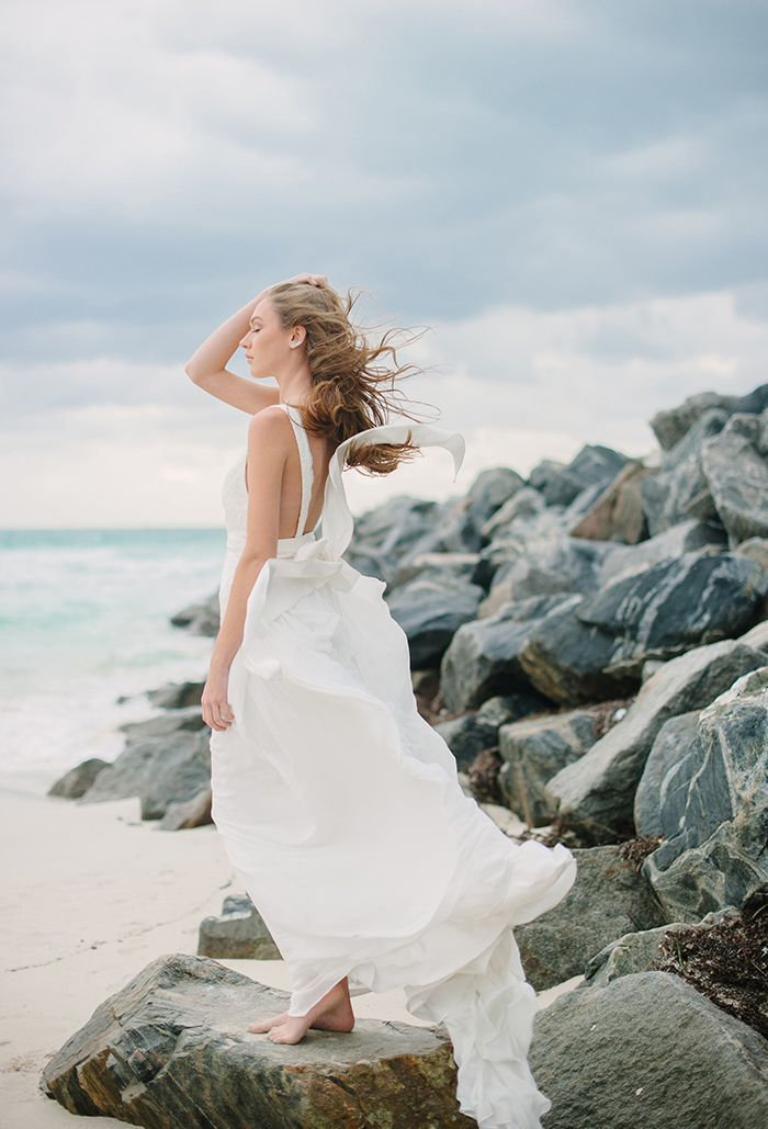 8-simple-romantic-beach-wedding-gown