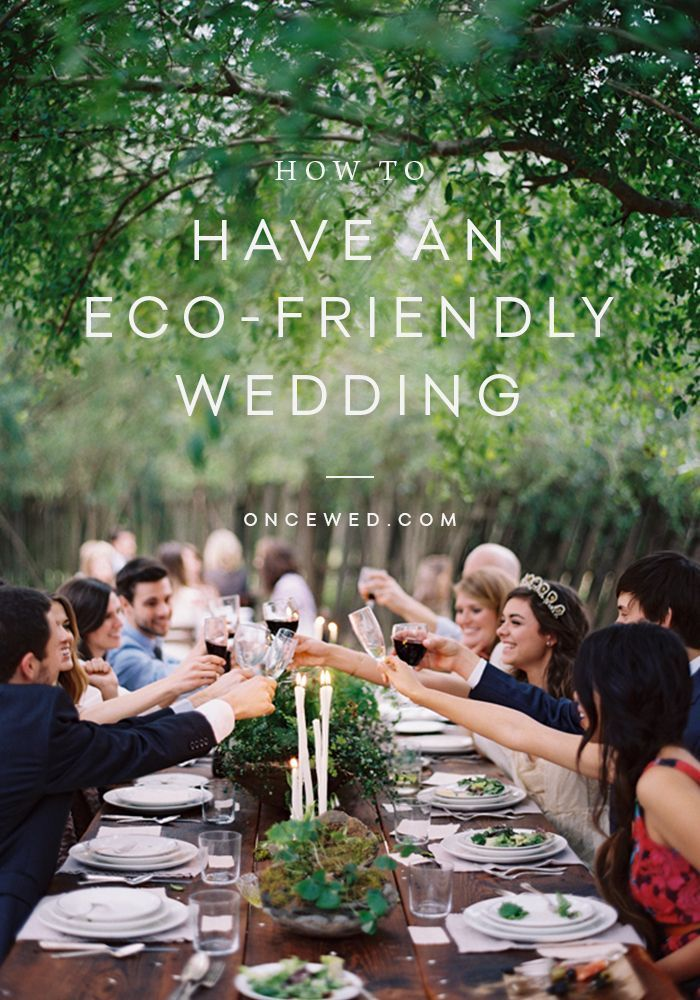 Eco Friendly Wedding Ideas Once Wed