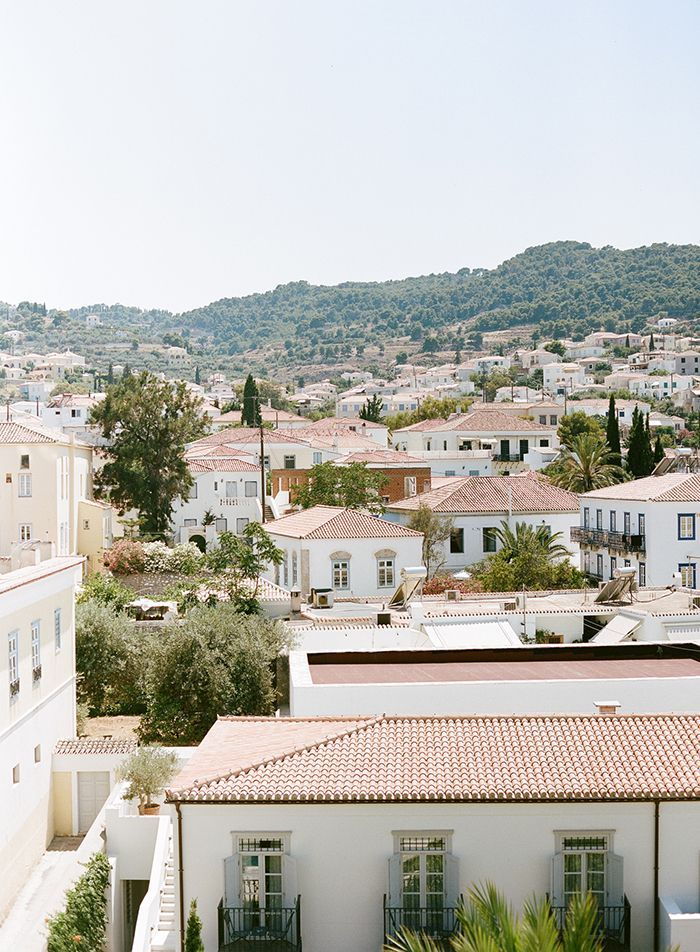 Romantic Destination Wedding in Greece