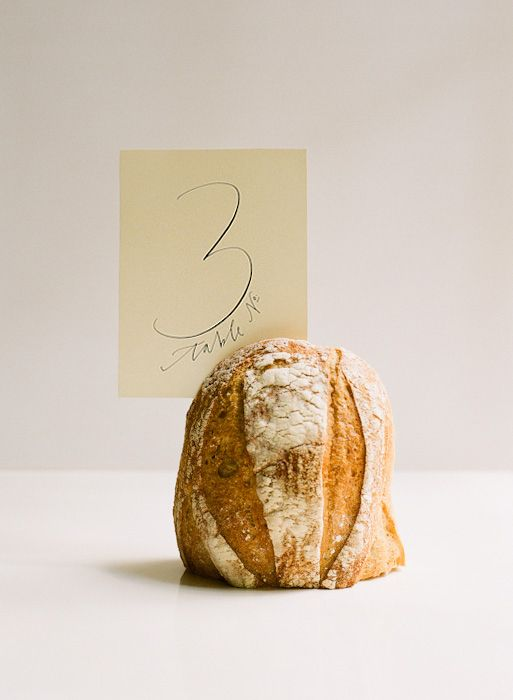 Bread Table Numbers