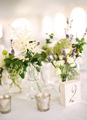 White Wedding Table Numbers