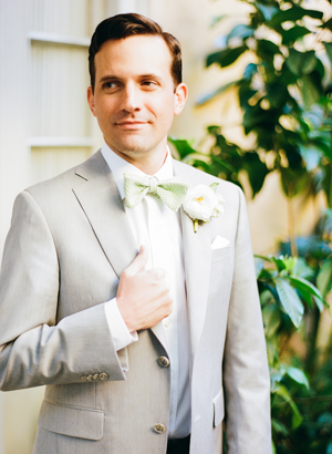 Light Gray Wedding Suit