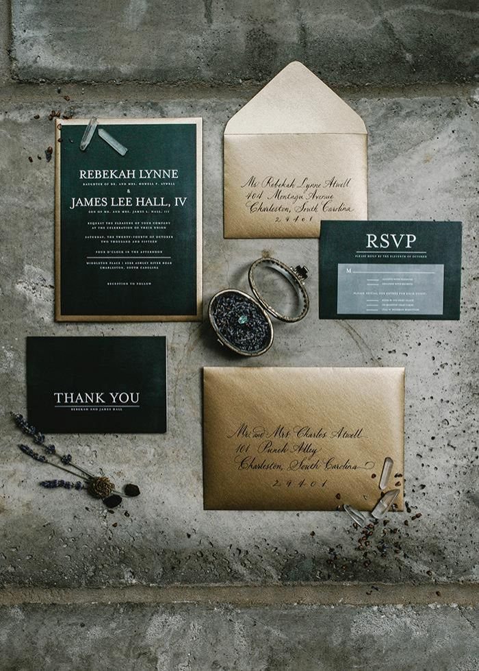 3-gold-green-wedding-invitations