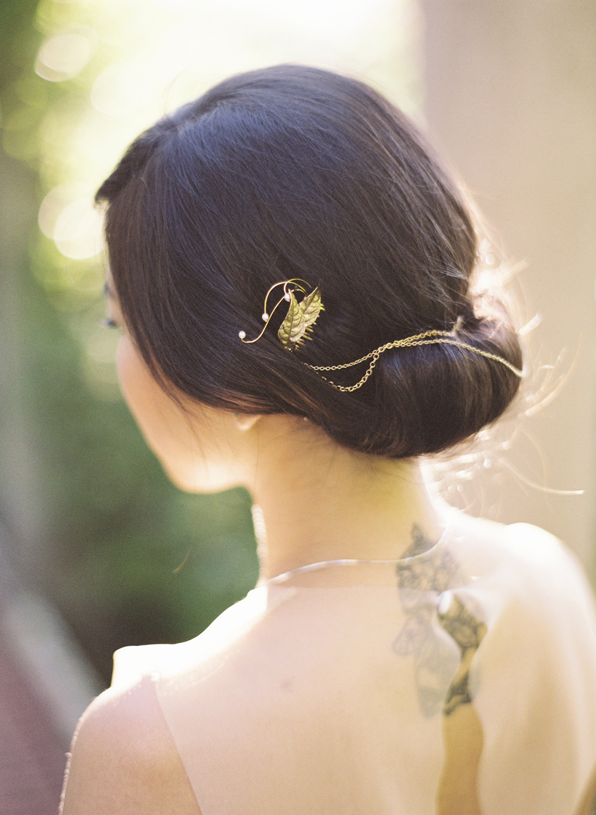 Whimsical and Elegant Hair Piece