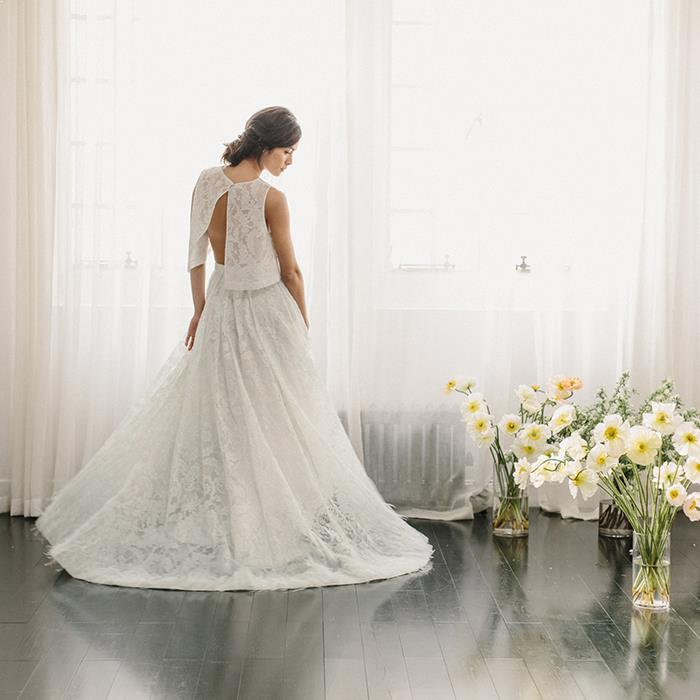 Modern Romance Wedding Dress : Romantic wedding dresses from alexandra grecco once wed