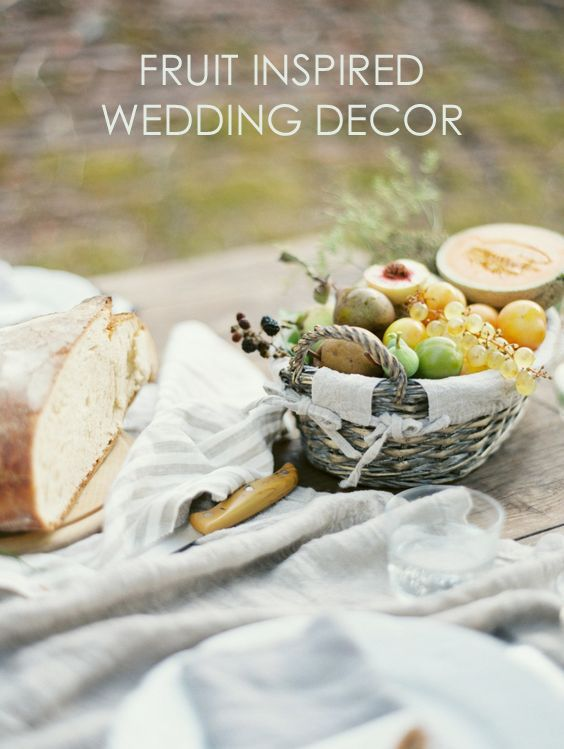 Fruit Inspired Wedding Ideas