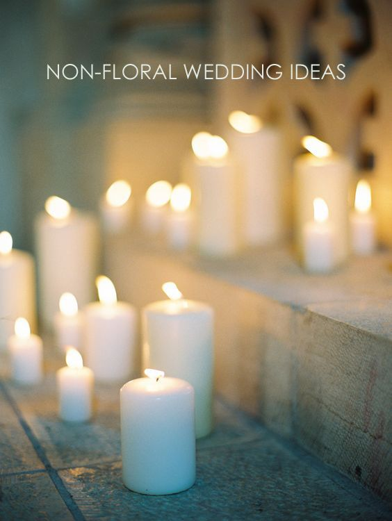 Non-Floral Wedding Decor Ideas 0