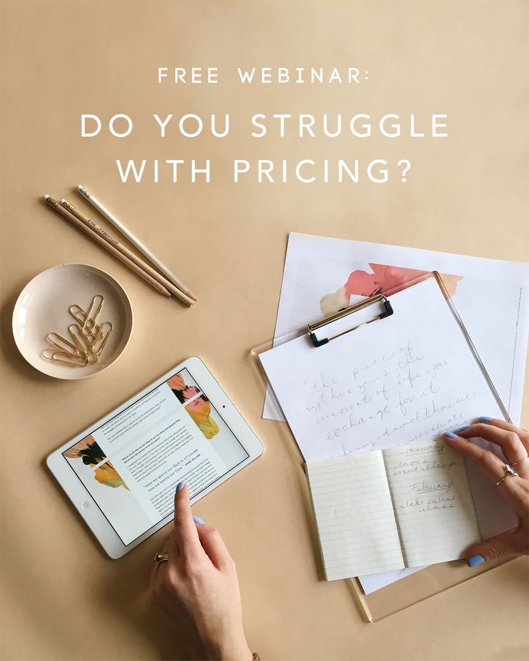 FREE Webinar: Pricing for Creatives