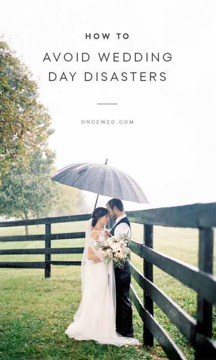 Tips to Prevent Wedding Day Disasters