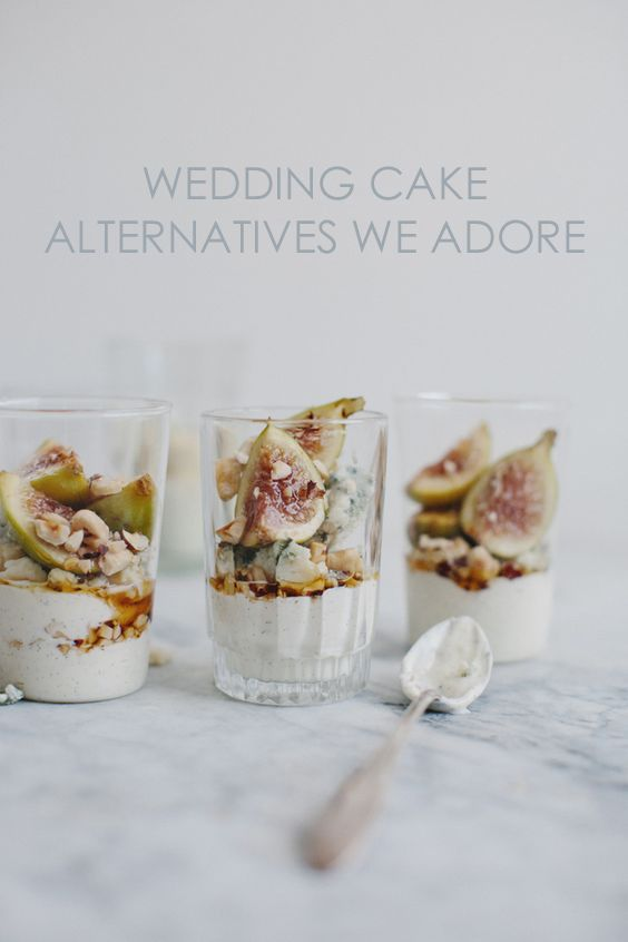 Non-Wedding Cake Dessert Ideas