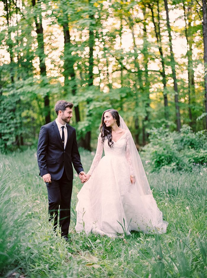 Family Backyard Wedding : Classic Outdoor Wedding with Family Traditions  Once Wed