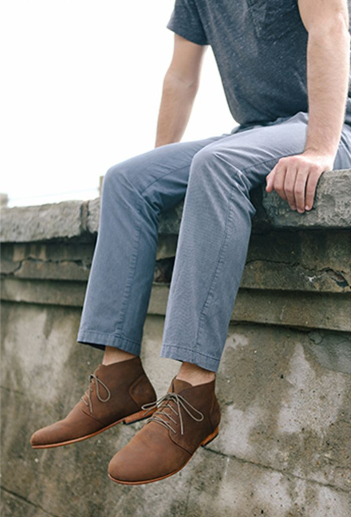 Shop the Emilio LE Oak Chukka Boots here