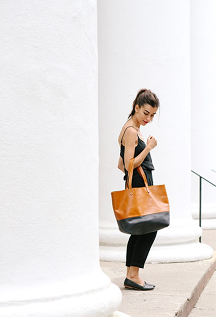 Shop the Lori Colorblock tote  here