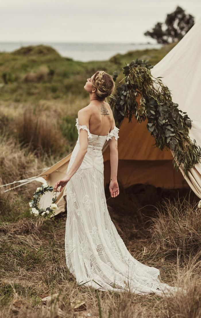 Nomadic Love: Wedding Dress Trends from Rue De Seine