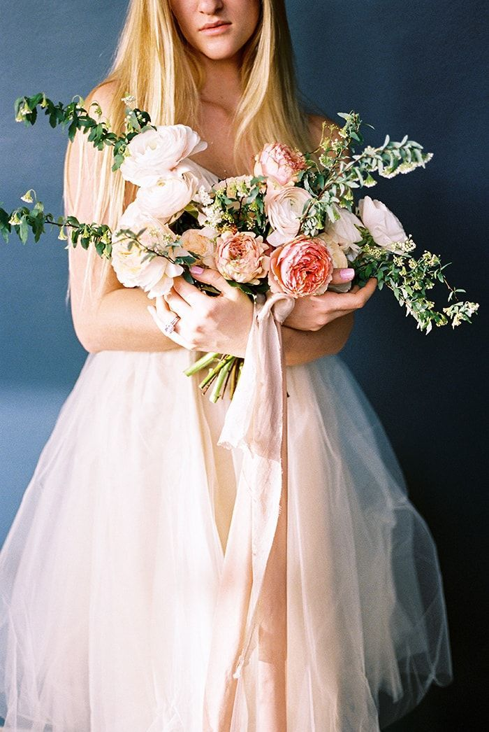 Garden-Inspired Spring Wedding Flowers
