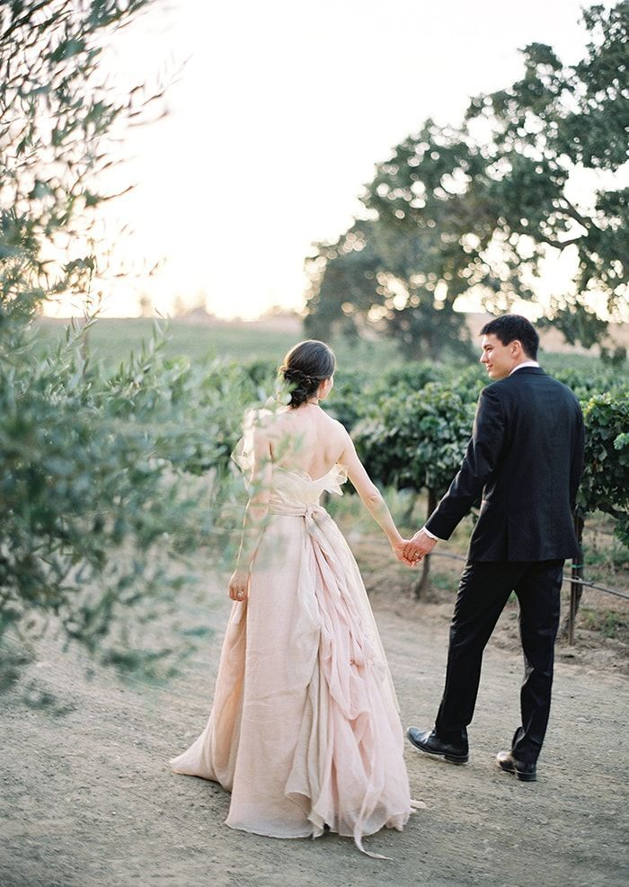 Classic Outdoor California Wedding