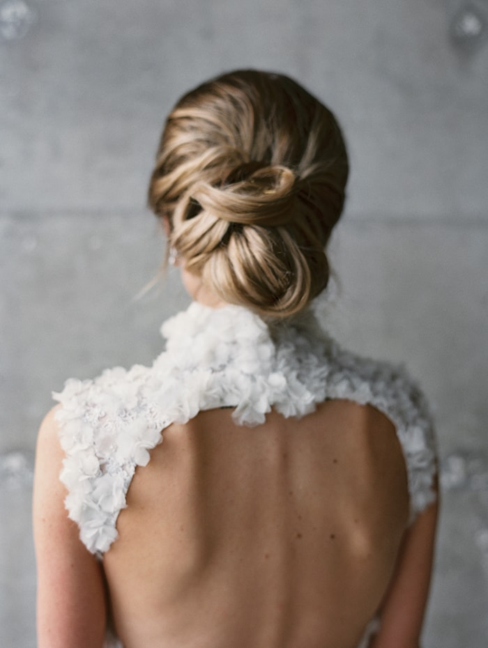 Backyard Wedding Hair Ideas : Romantic outdoor wedding with unique details once wed