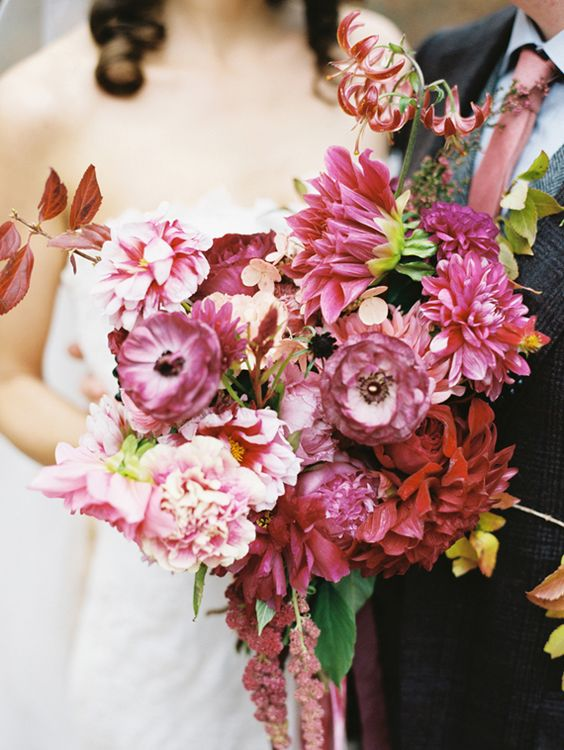 Infusing Bold Colors Into Your Wedding
