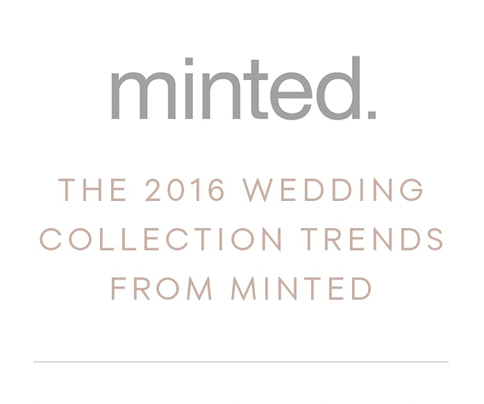 2016 Wedding Invitation Ideas from Minted