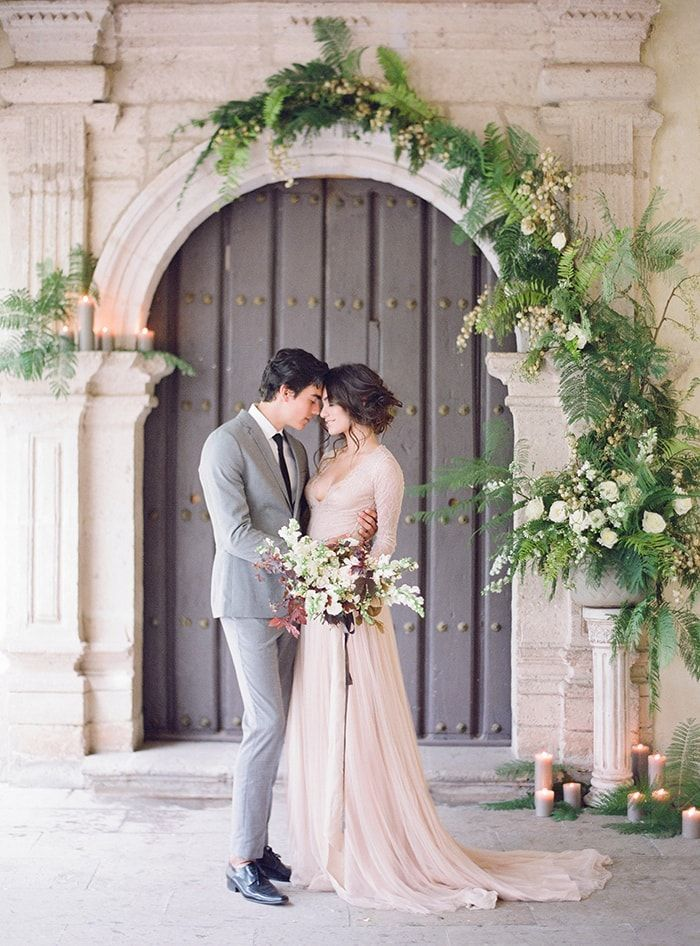 Graceful Wedding Inspiration in Mexico