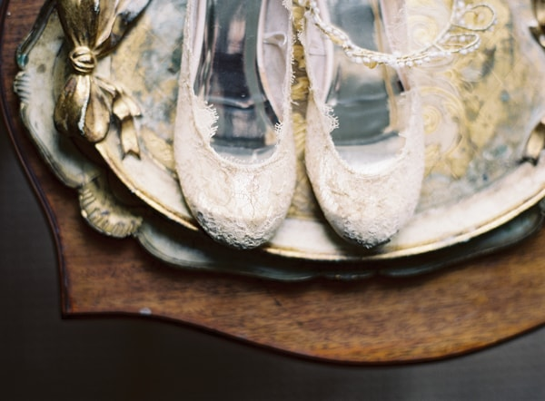 12-lace-ballet-flats-wedding-shoes-tiara-florintine-tray-wood-gold