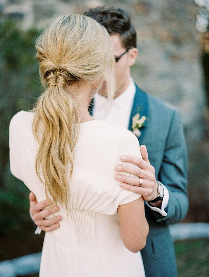 Modern Wedding Inspiration in an Old World Setting Once Wed