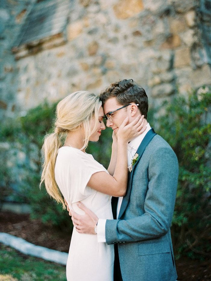 Modern Wedding Inspiration in an Old-World Setting