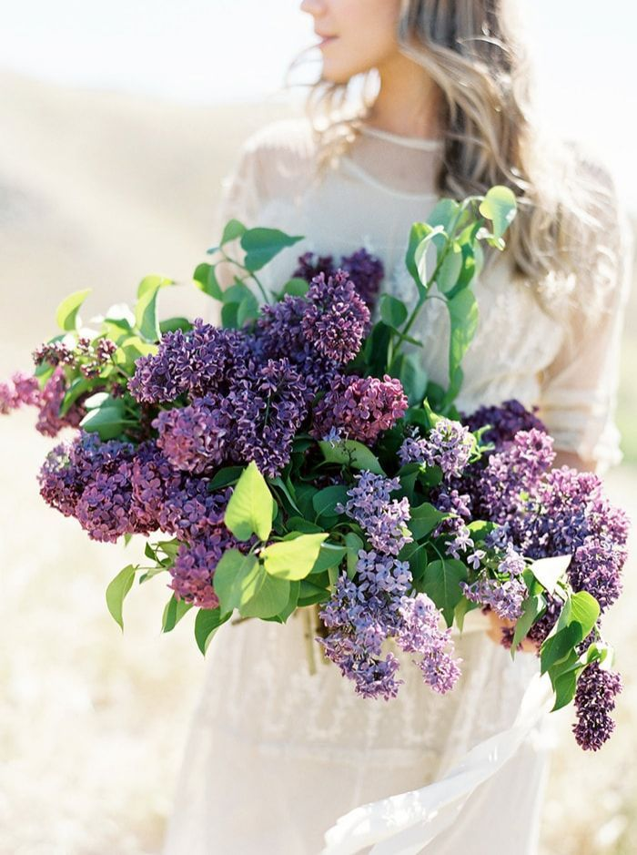 Lilac Wedding Flower Inspiration