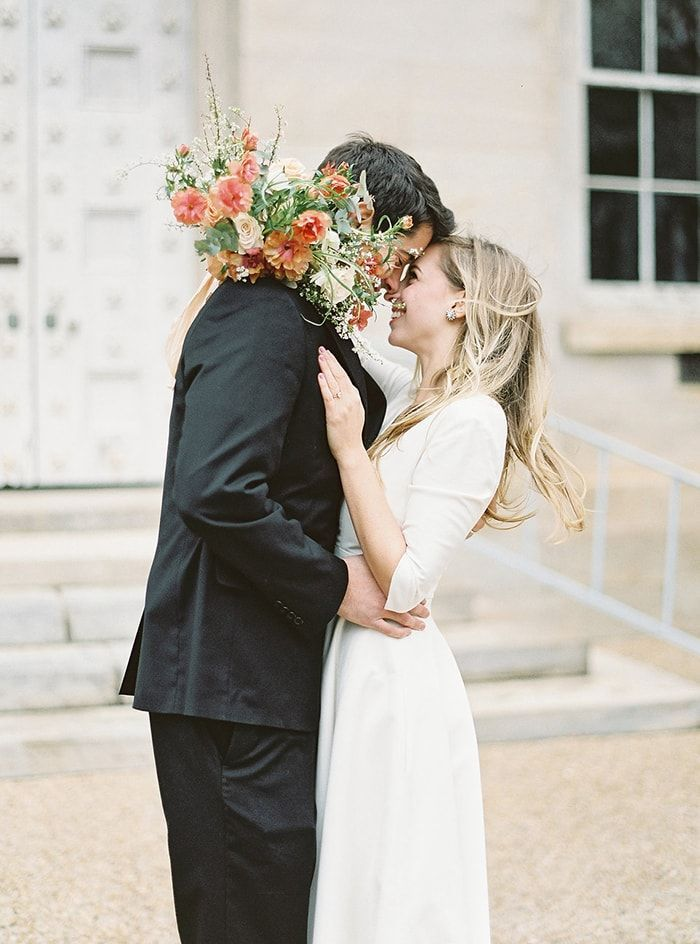 Simple Courthouse Elopement