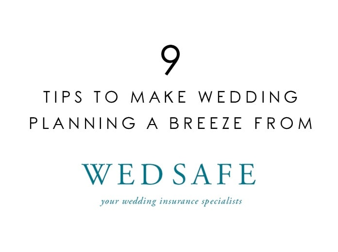 Wedding Planning Tips from Wedsafe