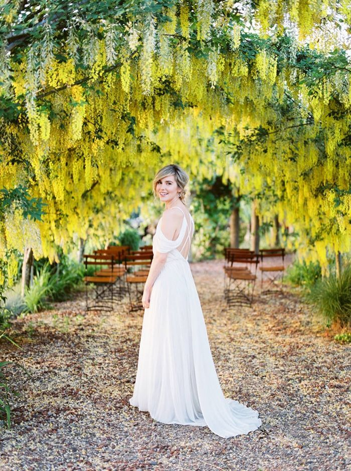 Joyous Outdoor Wedding with Bold Color Inspiration