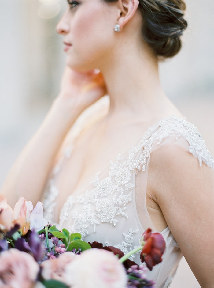Elegant Wedding Inspiration with Heirloom Details