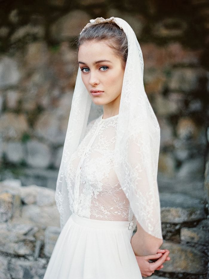 Serene Grace Kelly Wedding Inspiration from Cathy Telle