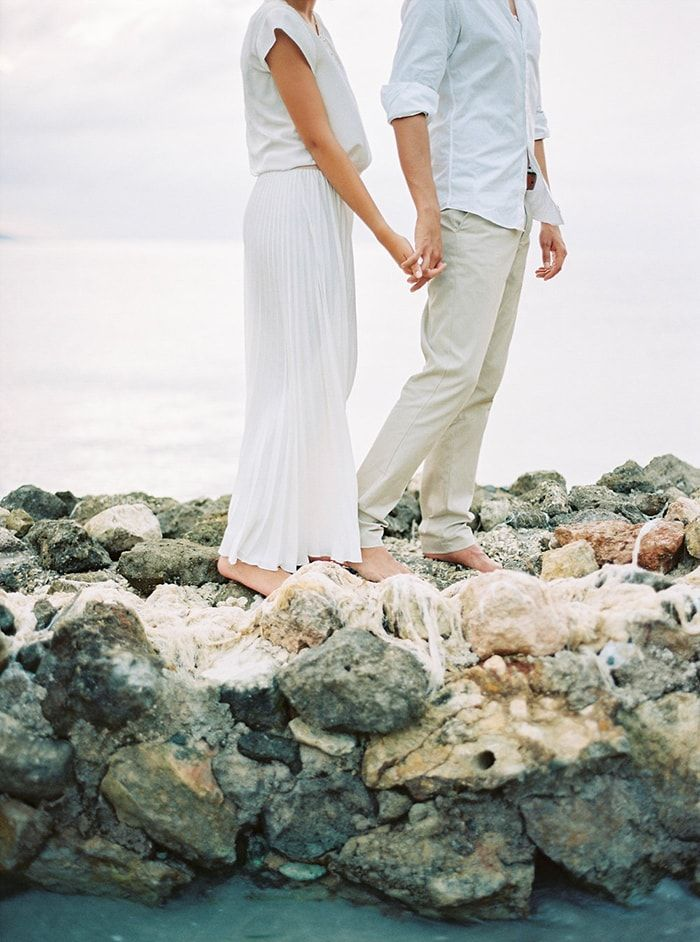 Peaceful Beach Wedding in Jamaica at Round Hill Resort