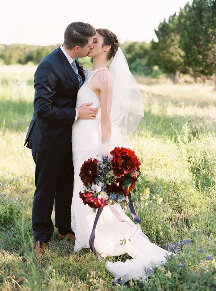 Sweet and Emotional Garden Wedding in Texas