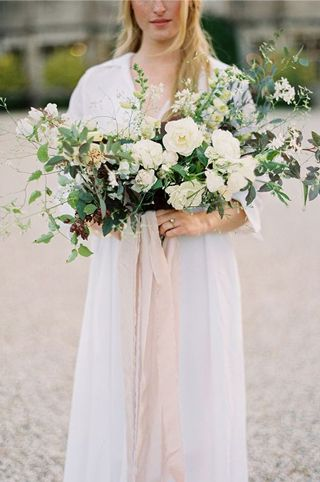 Inspiring natural wedding bouquet