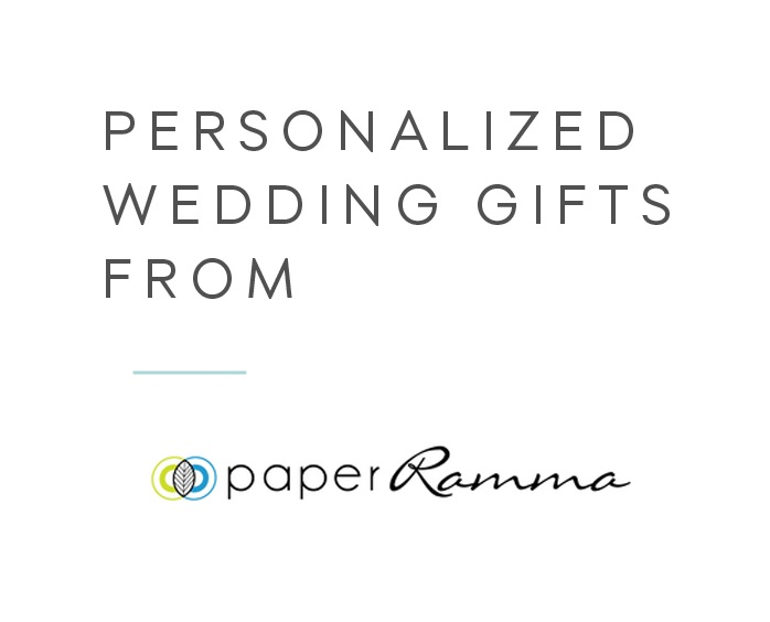 Personalized Wedding Guest Books and Art from Paperramma