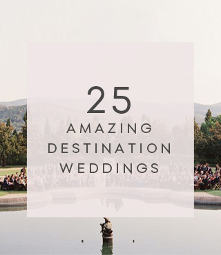 25 amazing destination weddings